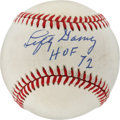 Autographs:Baseballs, Lefty Gomez Single Signed Baseball....