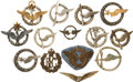 Military & Patriotic:WWI, World War I and World War II: Twelve French Aviation and One RFC Badges.... (Total: 14 Items)