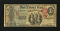 National Bank Notes:Pennsylvania, Selins Grove, PA - $1 1875 Fr. 384 The First NB Ch. # 357. ...