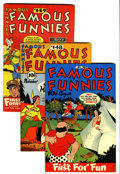 Golden Age (1938-1955):Miscellaneous, Famous Funnies File Copy Group (Eastern Color, 1946-53) Condition: Average VF.... (Total: 12 Comic Books)