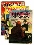 Silver Age (1956-1969):War, G.I. Combat Group (DC, 1957-61) Condition: Average GD/VG.... (Total: 11 Comic Books)