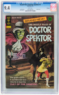 Bronze Age (1970-1979):Horror, Occult Files of Doctor Spektor #1 File Copy (Gold Key, 1973) CGC NM9.4 White pages....