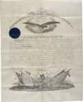 "Autographs:U.S. Presidents, Abraham Lincoln Military Appointment Signed ""Abraham Lincoln"" and countersigned by Secretary of War Edwin Stanton. O..."