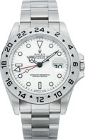 Timepieces:Wristwatch, Rolex Explorer II Ref. 16570 New/Old Stock Steel Wristwatch, circa 1995. ...
