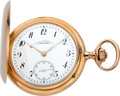 Timepieces:Pocket (post 1900), A. Lange & Sohne Very Fine Gold Watch With Original Box, circa 1915. ...