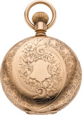 Timepieces:Pocket (pre 1900) , E. Howard & Co. Gold Series IV Pocket Watch, circa 1870's. ...