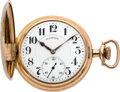 Timepieces:Pocket (post 1900), Illinois Very Rare 23 Jewel Hunters Case Bunn Special, circa 1921....