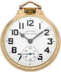 Timepieces:Pocket (post 1900), Hamilton Mint 950 B 23 Jewel Railroad Watch, circa 1940's. ...