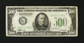Small Size:Federal Reserve Notes, Fr. 2202-G $500 1934A Federal Reserve Note. Very Fine-Extremely Fine.. ...