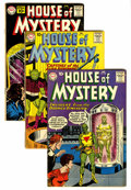 Silver Age (1956-1969):Horror, House of Mystery #106-116 Group (DC, 1961) Condition: Average VG-.... (Total: 11 )