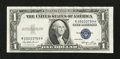Error Notes:Skewed Reverse Printing, Fr. 1614 $1 1935E Silver Certificate. Very Fine-Extremely Fine.....