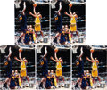 Basketball Collectibles:Photos, Kobe Bryant Signed Photographs Lot of 5....