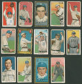 Baseball Cards:Lots, 1909-11 T206 White Border & 1911 T205 Gold Border Tobacco Collection (14). ...