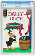 Bronze Age (1970-1979):Cartoon Character, Daffy Duck #66 File Copy (Gold Key, 1970) CGC NM/MT 9.8 Off-whiteto white pages....