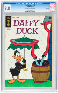 Daffy Duck #66 File Copy (Gold Key, 1970) CGC NM/MT 9.8 Off-white to white pages