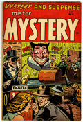 Golden Age (1938-1955):Horror, Mister Mystery #19 (Aragon, 1954) Condition: FN-....