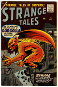 Silver Age (1956-1969):Horror, Strange Tales #74 (Marvel, 1960) Condition: FN+....