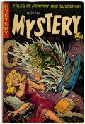 Golden Age (1938-1955):Horror, Mister Mystery #8 (Aragon, 1952) Condition: VG....