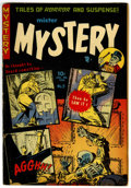 Golden Age (1938-1955):Horror, Mister Mystery #9 (Aragon, 1953) Condition: VG+....