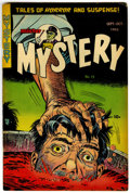 Golden Age (1938-1955):Horror, Mister Mystery #13 (Aragon, 1953) Condition: VG+....