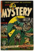 Golden Age (1938-1955):Horror, Mister Mystery #15 (Aragon, 1954) Condition: VG+....