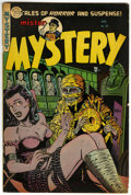 Golden Age (1938-1955):Horror, Mister Mystery #16 (Aragon, 1954) Condition: VG/FN....