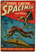 Golden Age (1938-1955):Science Fiction, Spaceman #2 (Atlas, 1953) Condition: FN....