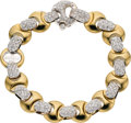 Estate Jewelry:Bracelets, Diamond, Gold Bracelet, Baraka. ...