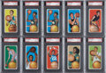 Basketball Cards:Lots, 1970-71 Topps Basketball PSA-Graded Collection (7). ...