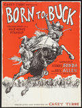 """Movie Posters:Documentary, Born to Buck (American National Enterprises, 1971). Poster (29"""" X 40""""). Documentary.. ..."""