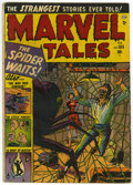 Golden Age (1938-1955):Horror, Marvel Tales #105 (Atlas, 1952) Condition: GD/VG....