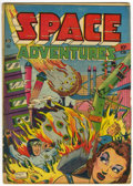 Golden Age (1938-1955):Science Fiction, Space Adventures #1 (Charlton, 1952) Condition: GD/VG....