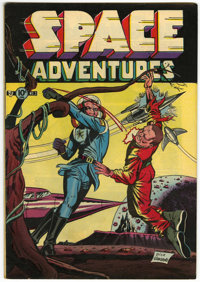 Space Adventures #3 (Charlton, 1952) Condition: VF-