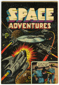 Golden Age (1938-1955):Science Fiction, Space Adventures #4 (Charlton, 1953) Condition: VF-....
