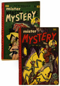 Golden Age (1938-1955):Science Fiction, Mister Mystery #3 and 5 Group (Aragon, 1952-53).... (Total: 2 )