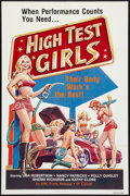 "Movie Posters:Sexploitation, High Test Girls (SRC Films, 1983). One Sheet (27"" X 41"").Sexploitation.. ..."
