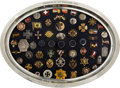 Military & Patriotic:WWI, Austria: Large Collection of Austrian Patriotic Pins, Badges, Buttons, and Rings from 1914....