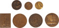 Military & Patriotic:WWI, Lot of Seven French WWI Commemorative Medals.... (Total: 7 Items)