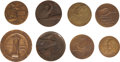 Transportation:Aviation, Lot of Eight Early Aviation Commemorative Medals.... (Total: 8Items)