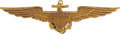 Military & Patriotic:WWI, World War I: United States Navy Gold Pilot Wing....