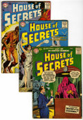 Silver Age (1956-1969):Mystery, House of Secrets #4 and 7-9 Group (DC, 1957-58).... (Total: 4 )