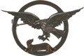 Military & Patriotic:WWI, World War I: 24th Aero Squadron Sterling and Bronze Pin....
