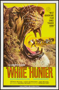 "Movie Posters:Adventure, White Hunter (Herts-Lion International, 1964). One Sheet (27"" X41""). Adventure.. ..."