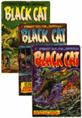 Golden Age (1938-1955):Horror, Black Cat Mystery #51-53 Group (Harvey, 1954).... (Total: 3 )