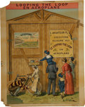 """Antiques:Posters & Prints, French Early Aviation """"Le Looping the Loop"""" Color LithographPoster...."""