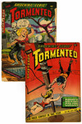 Golden Age (1938-1955):Horror, Tormented #1 and 2 Group (Sterling, 1954).... (Total: 2 )