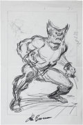 Original Comic Art:Sketches, John Buscema Wolverine, Western and Fantasy Sketch Original Art (undated)....