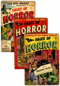 Golden Age (1938-1955):Horror, Tales of Horror #1-3 Group (Toby Publishing, 1952).... (Total: 3 )