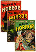 Golden Age (1938-1955):Horror, Tales of Horror #6-9 Group (Toby Publishing, 1953-54).... (Total: 4)