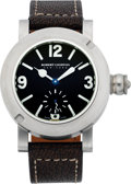 "Timepieces:Wristwatch, Robert Lighton Men's Steel ""Growler"" Wristwatch. ..."